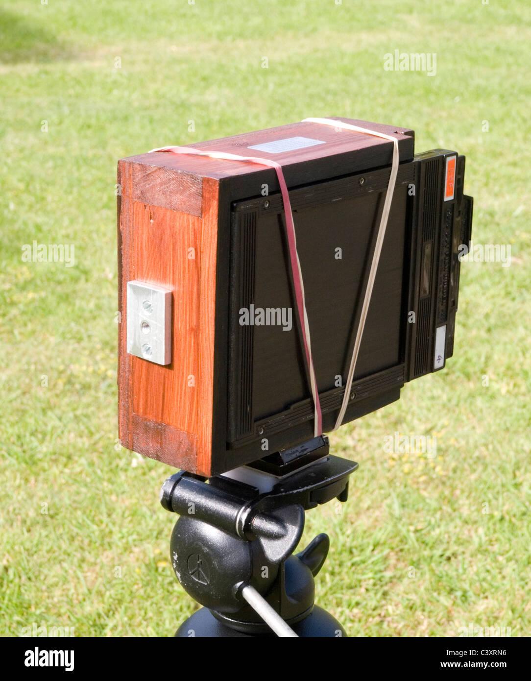A Homemade Pinhole Camera Using 4x5 Cut Film