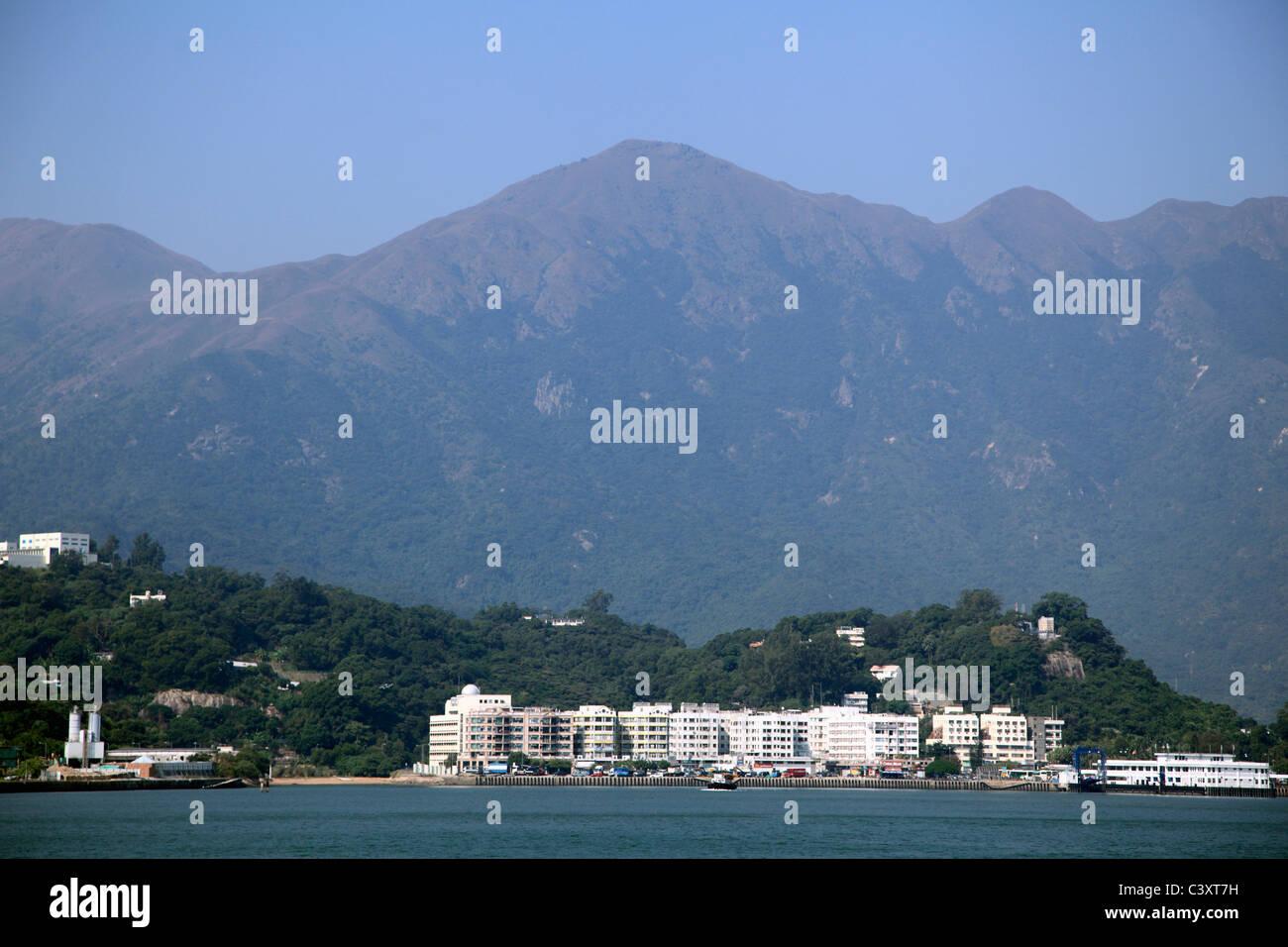 Launtau Island, Mui Wo Village, Hong Kong, China, Asia - Stock Image