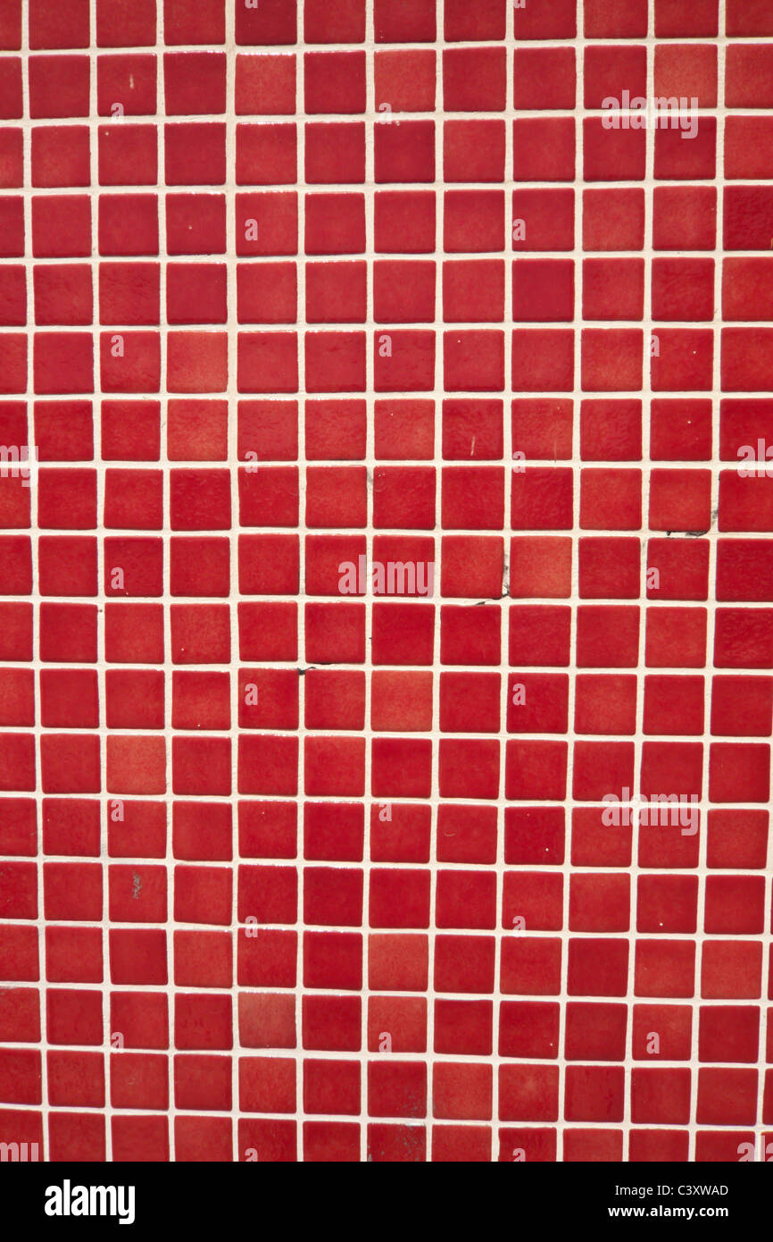 Red background - Stock Image