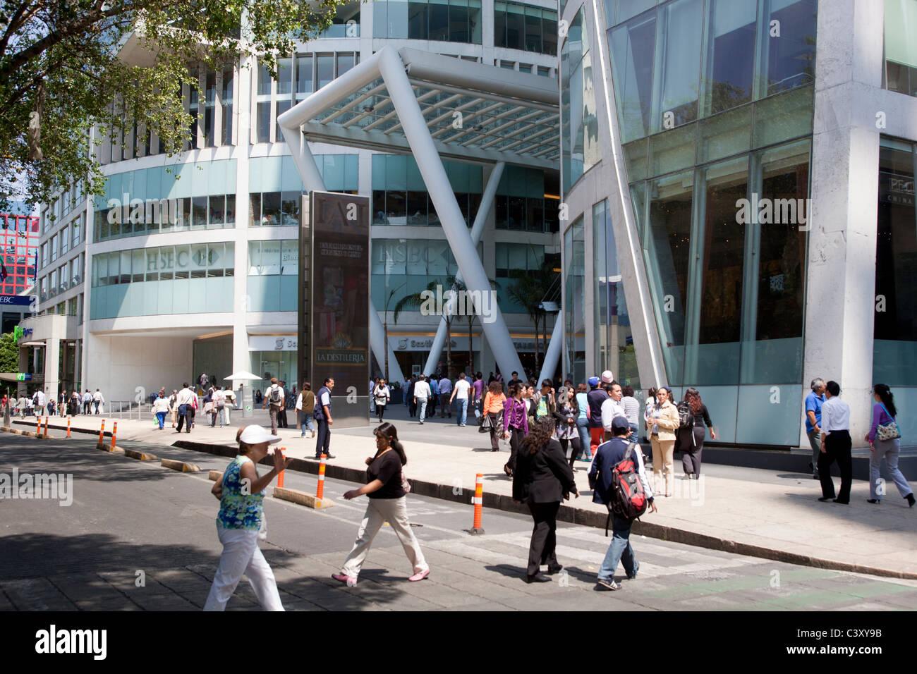 Zona Rosa Mexico City - Stock Image