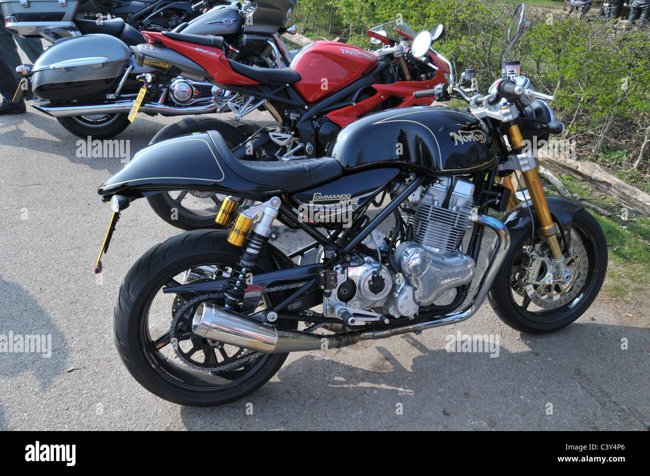 Norton Commando 961 Se High Resolution Stock Photography And Images Alamy