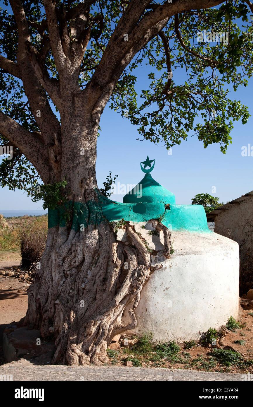 islamic grave, harar, ethiopia, africa - Stock Image