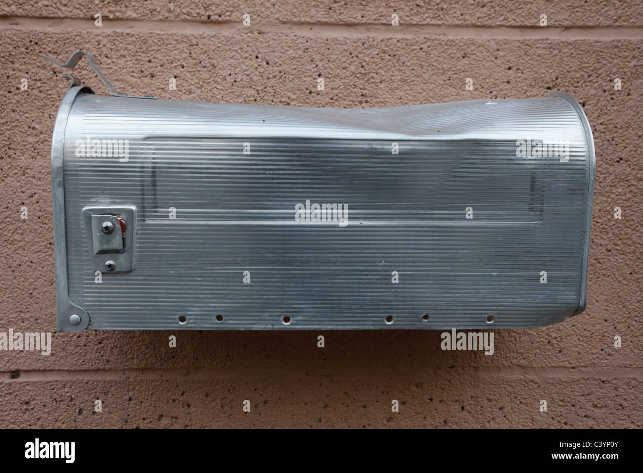 Old metal letterbox in Germany - Stock Image