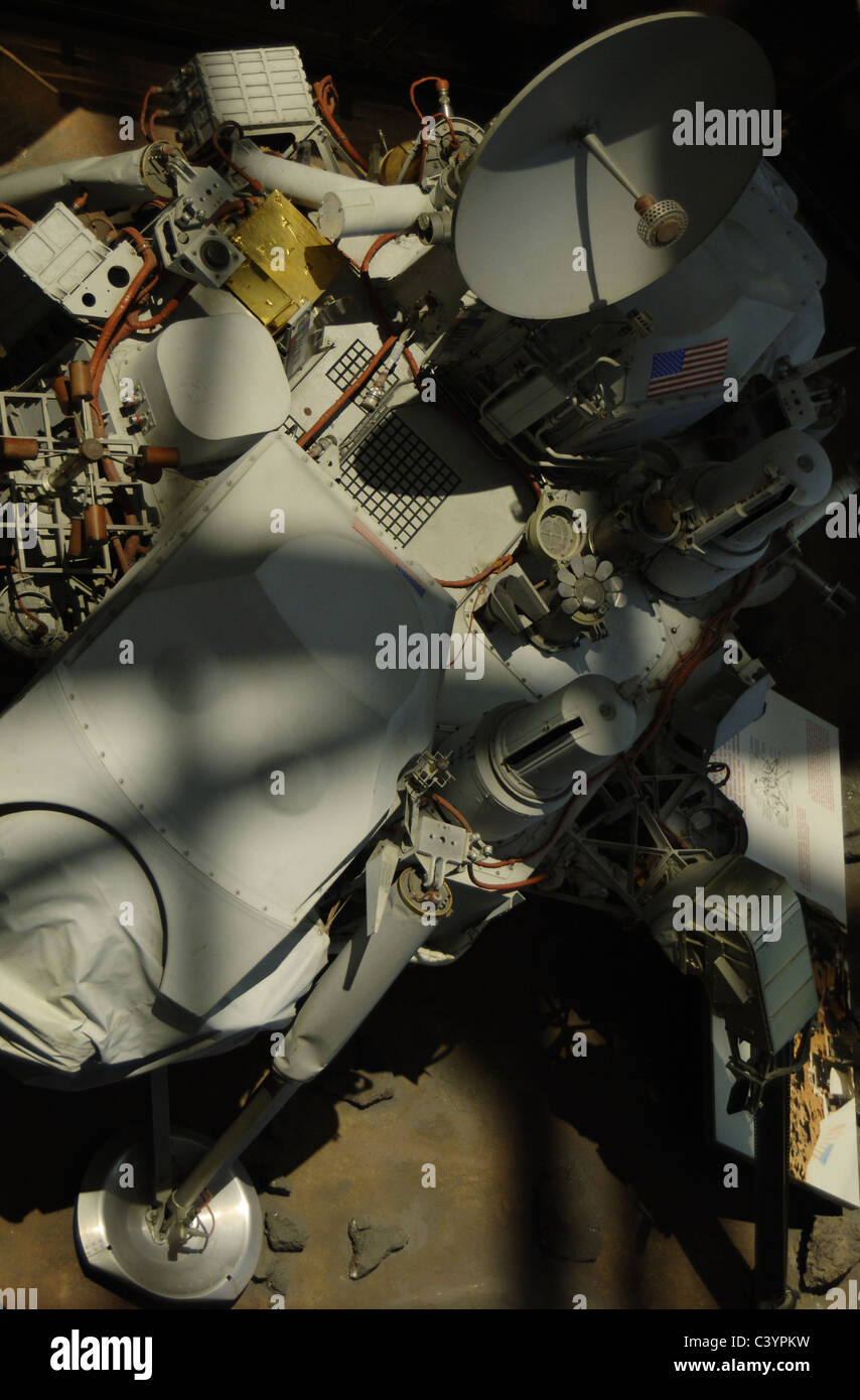 Spacecraft 'Viking Lander'. First to operate on the surface of Mars (1976). National Air & Space Museum. - Stock Image