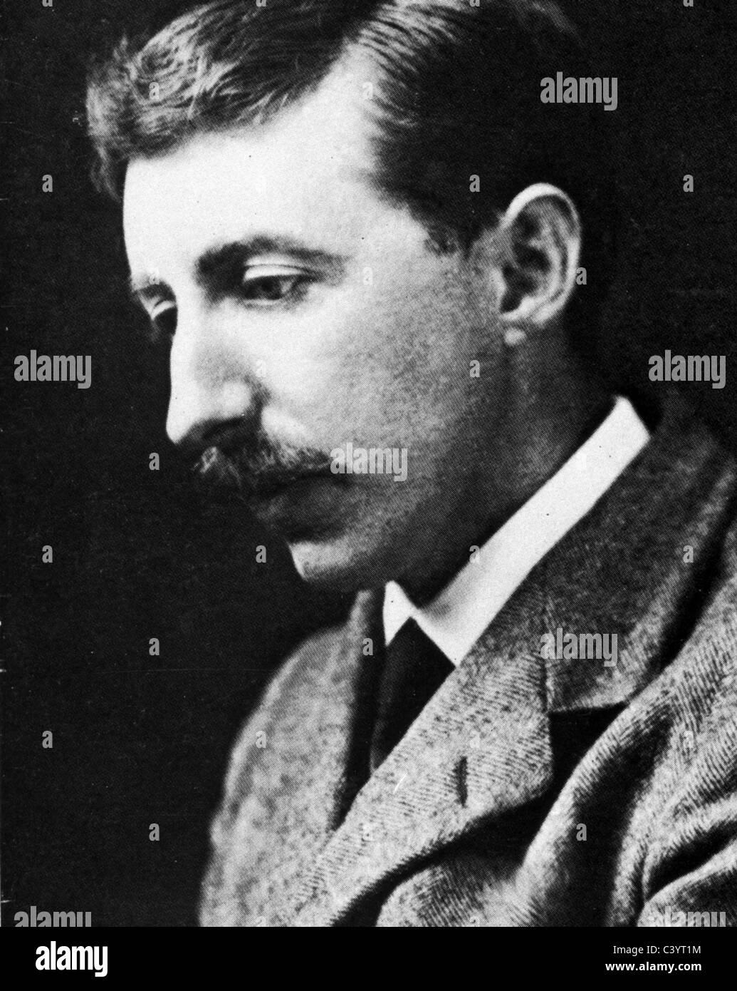 E.M. FORSTER (1879-1970) English novelist - Stock Image