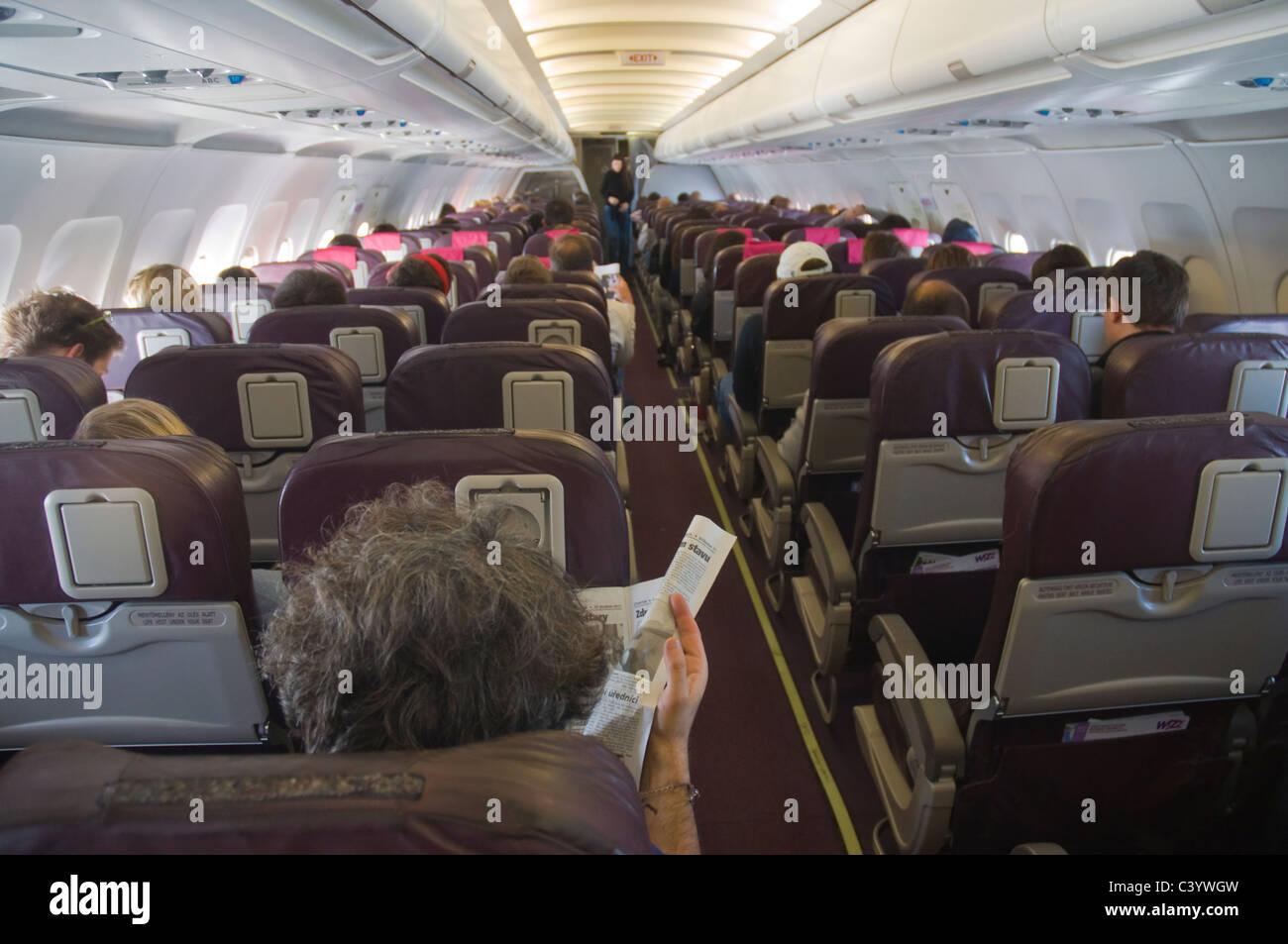 Wizzair Flight From Prague To Venice Treviso Europe Stock Photo Alamy
