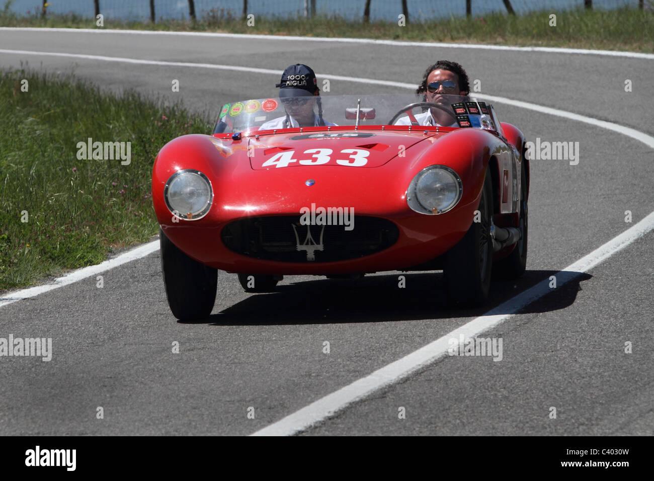 Mille Miglia 2011 Maserati - Stock Image
