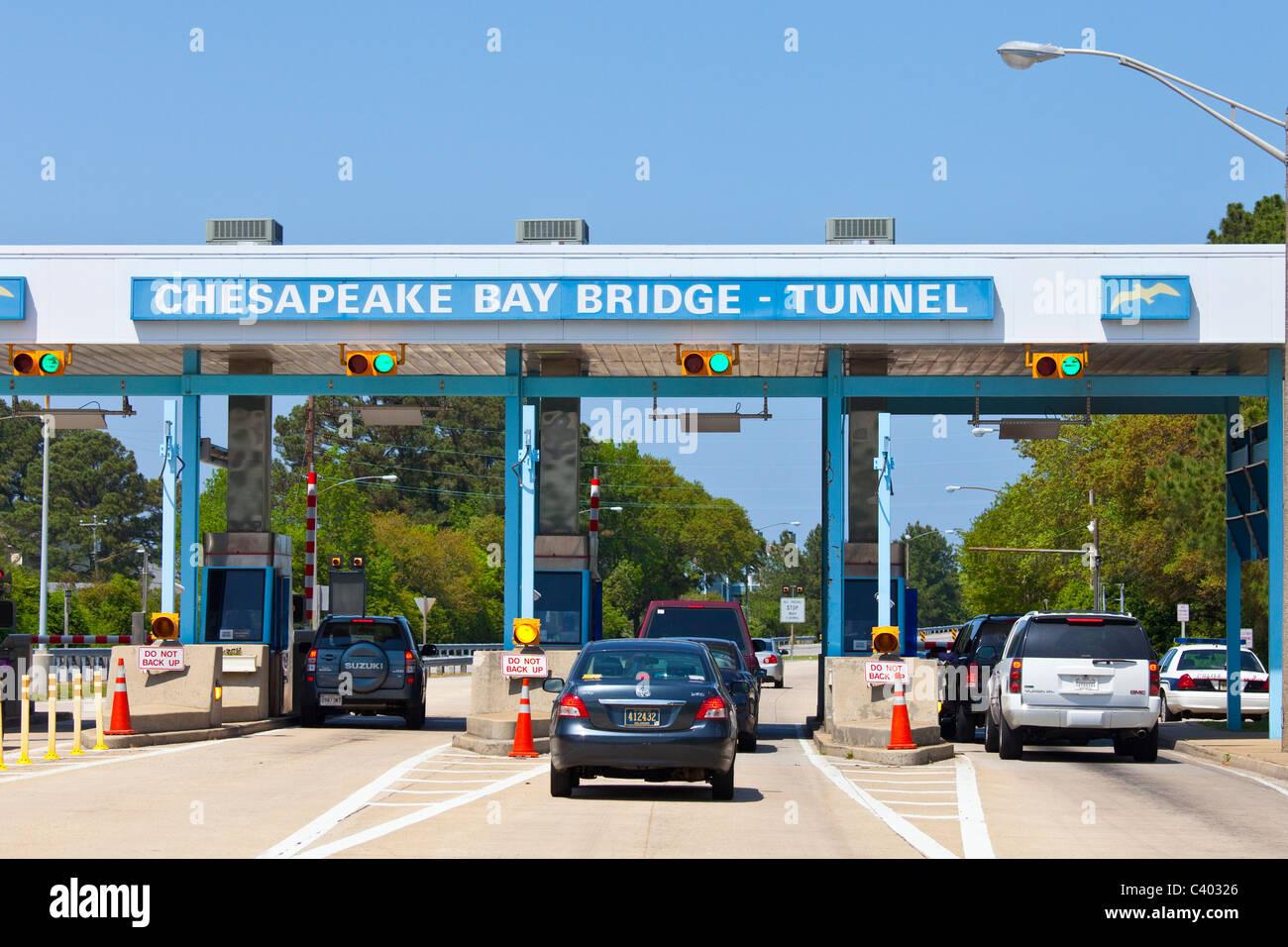 Chesapeake Bay Bridge Tunnel, Virginia - Stock Image