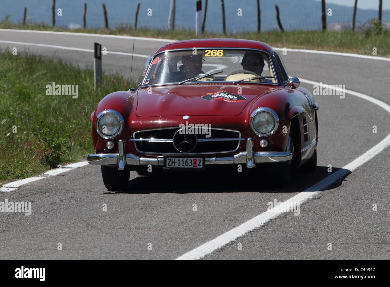 Mille Miglia 2011 Mercedes - Stock Image
