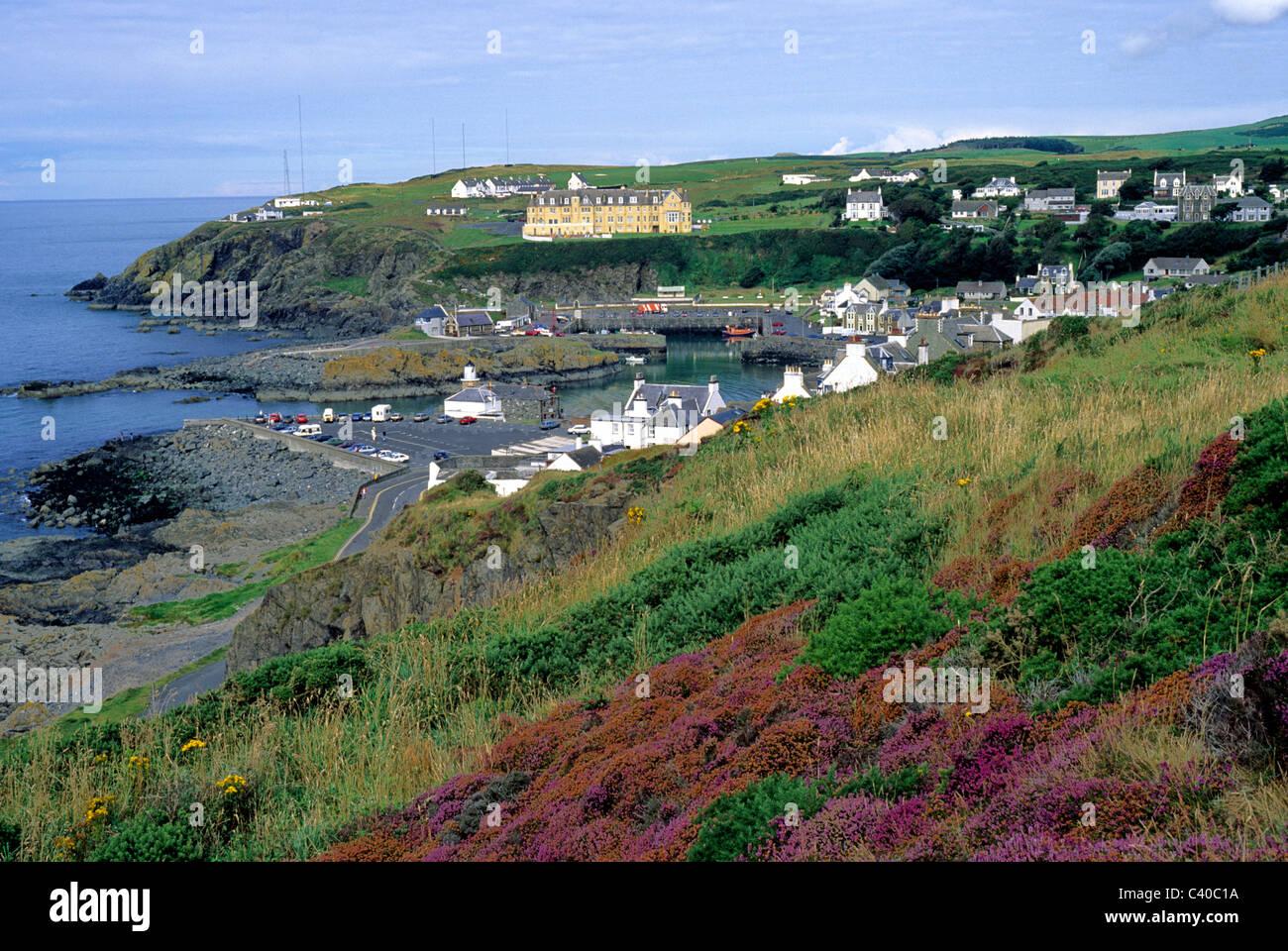 Portpatrick, Dumfries and Galloway Region, Scotland Scottish coast