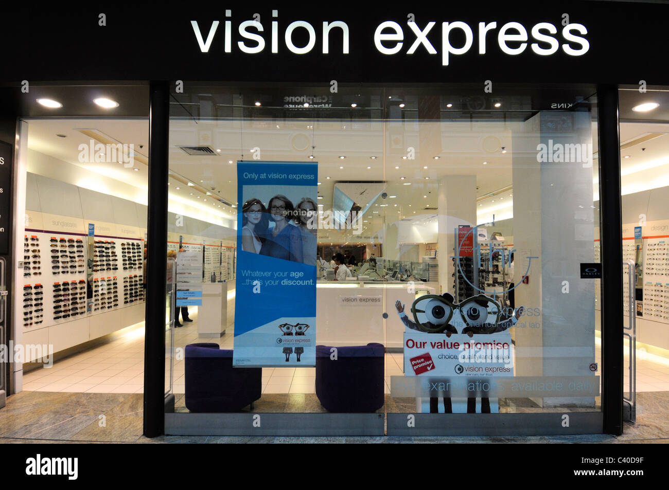 ad12995388d Vision Express Store Stock Photos   Vision Express Store Stock ...