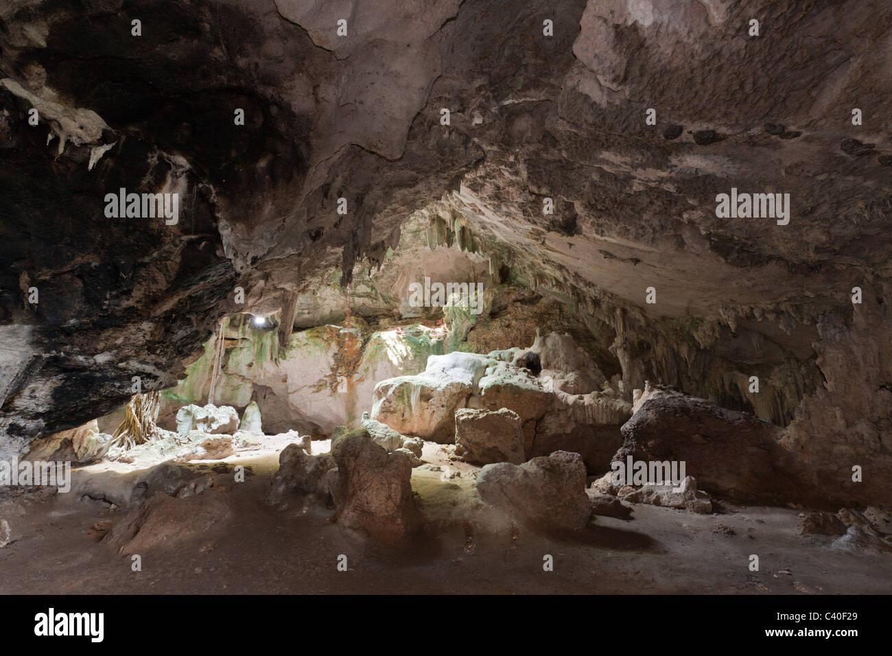 San Gabriel Limestone Cave, Los Haitises National Park, Dominican Republic Stock Photo