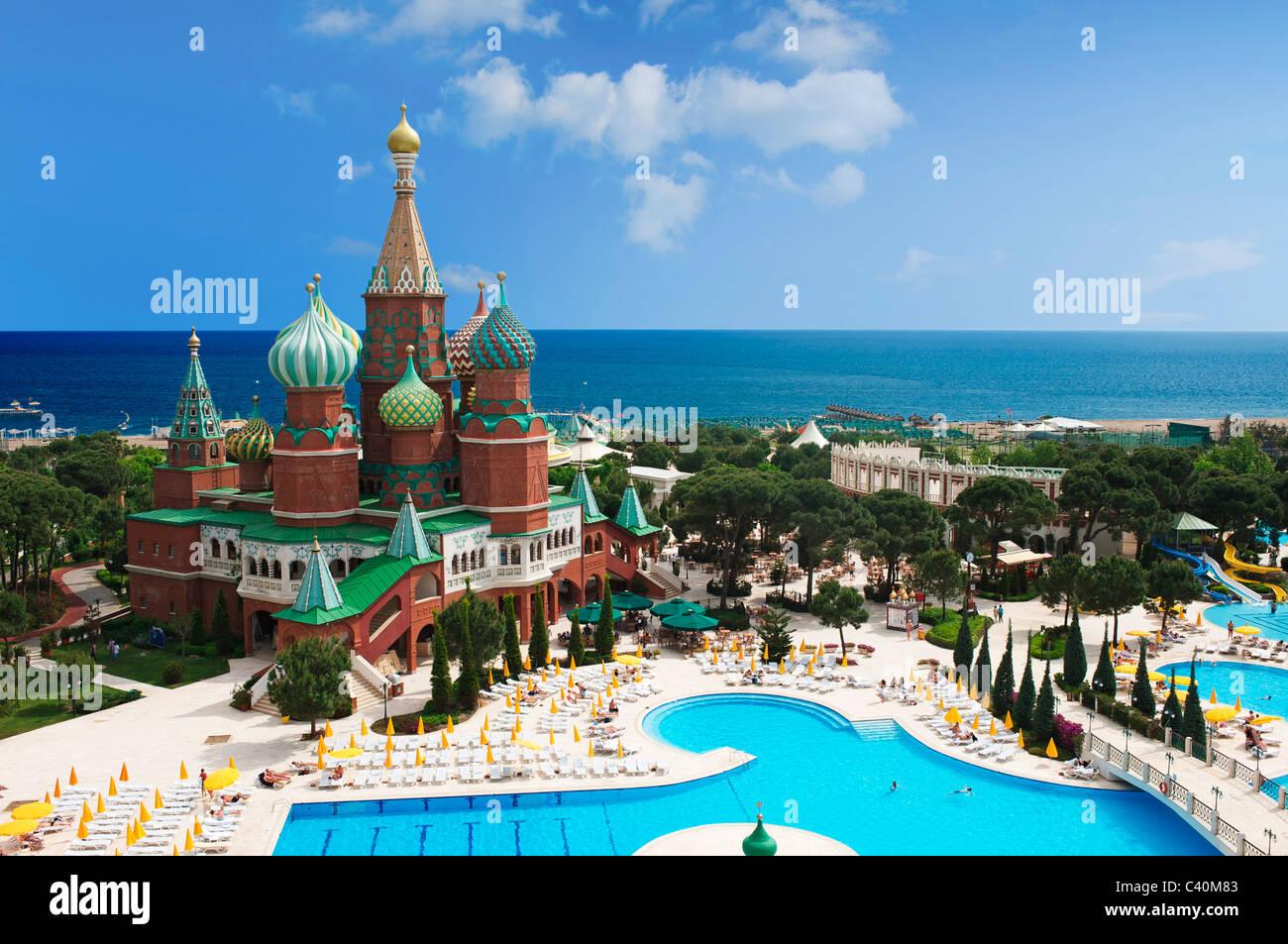 Turkish Riviera Hotel Wow Kremlin Palace Antalya Turkish Stock