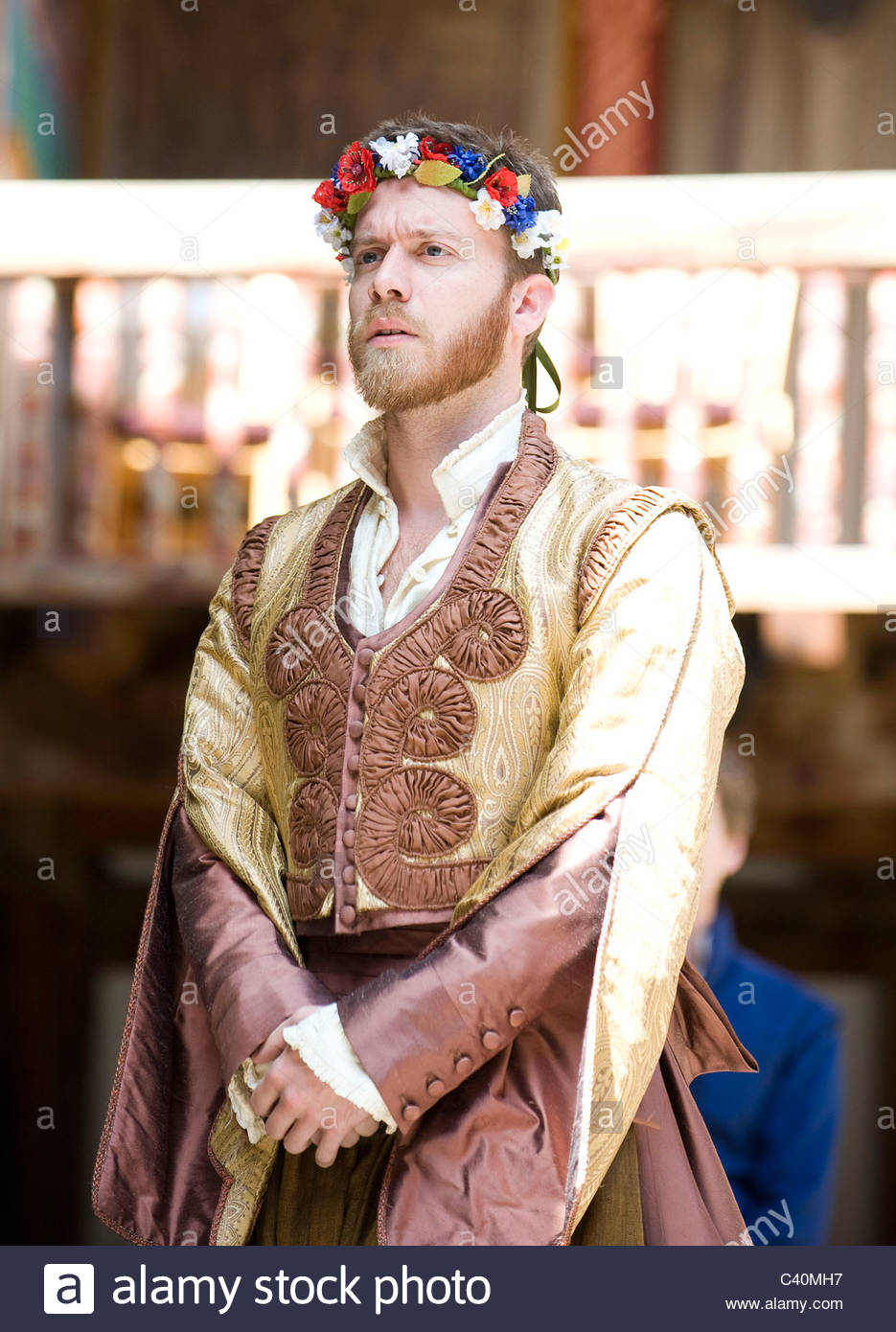 Much Ado About Nothing by William Shakespeare, directed by Jeremy Herrin - Stock Image
