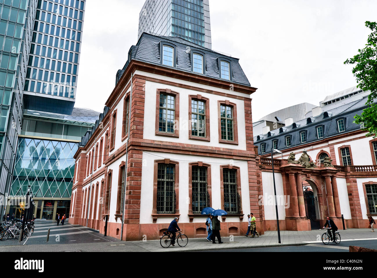 Palais Thurn und Taxis in Palais Quartier Frankfurt Zeil, Germany - Stock Image