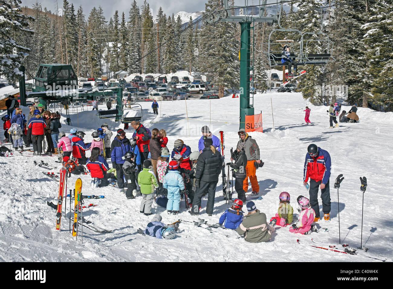 brighton ski resort stock photos & brighton ski resort stock images