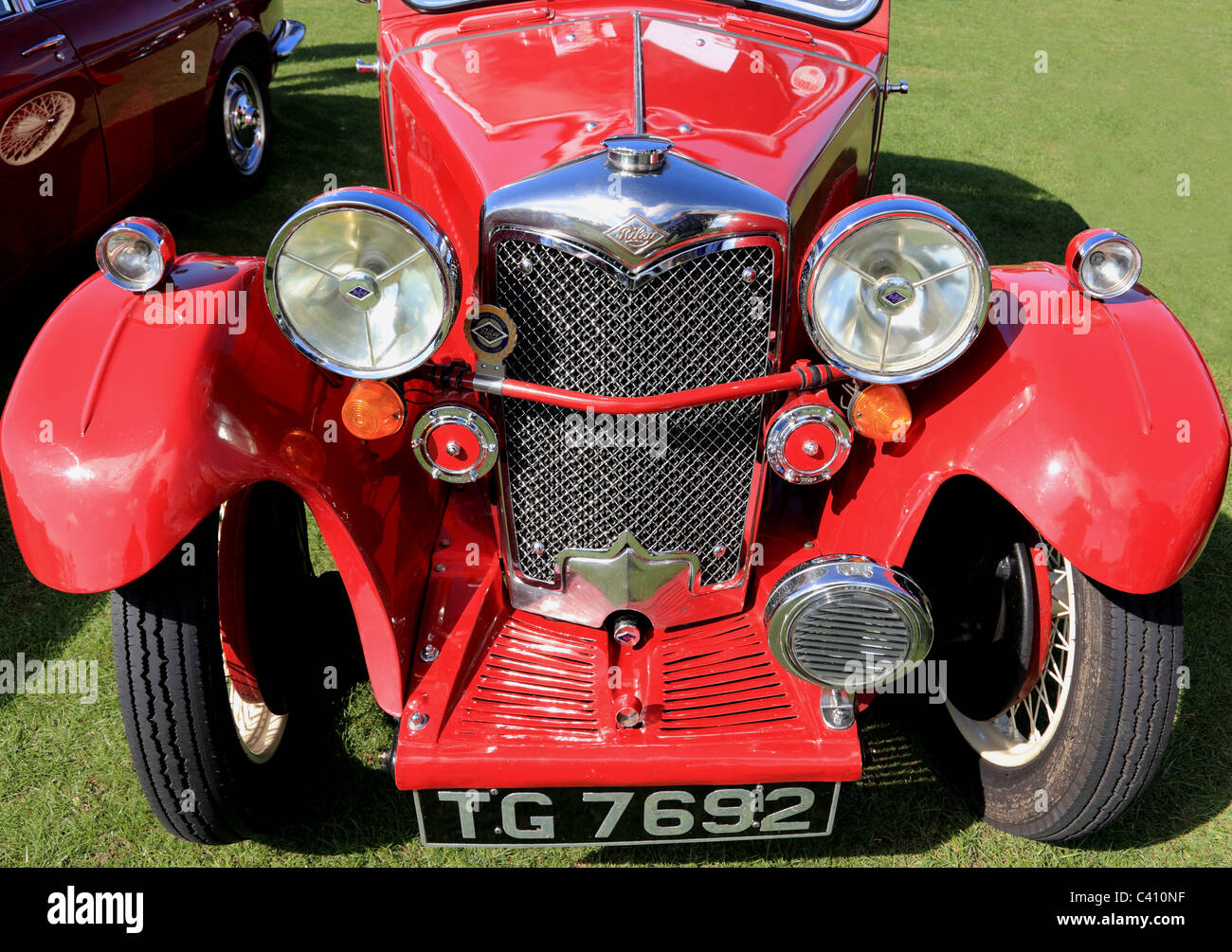 3425. The Grand Old Timers Car Rally 2010, Folkestone, Kent, UK - Stock Image