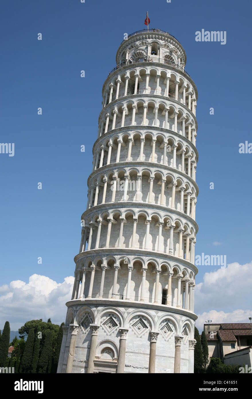 leaning tower of pisa design