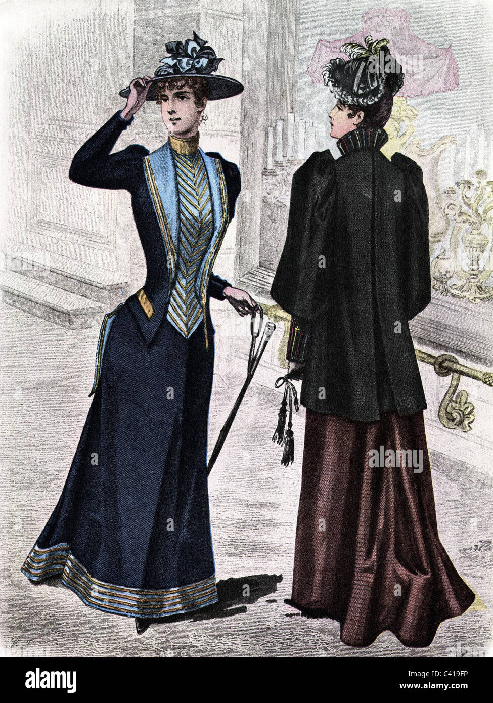 19 Stylish Fall Outfits Worth Copying: Fashion, Ladie's Fashion, 19th Century, Ladies In