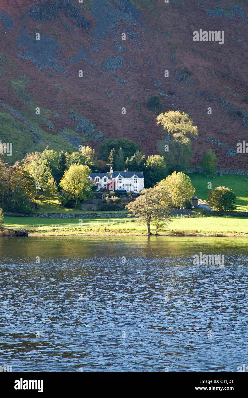 Hallin Fell from Ullswater, Cumbria. Stock Photo