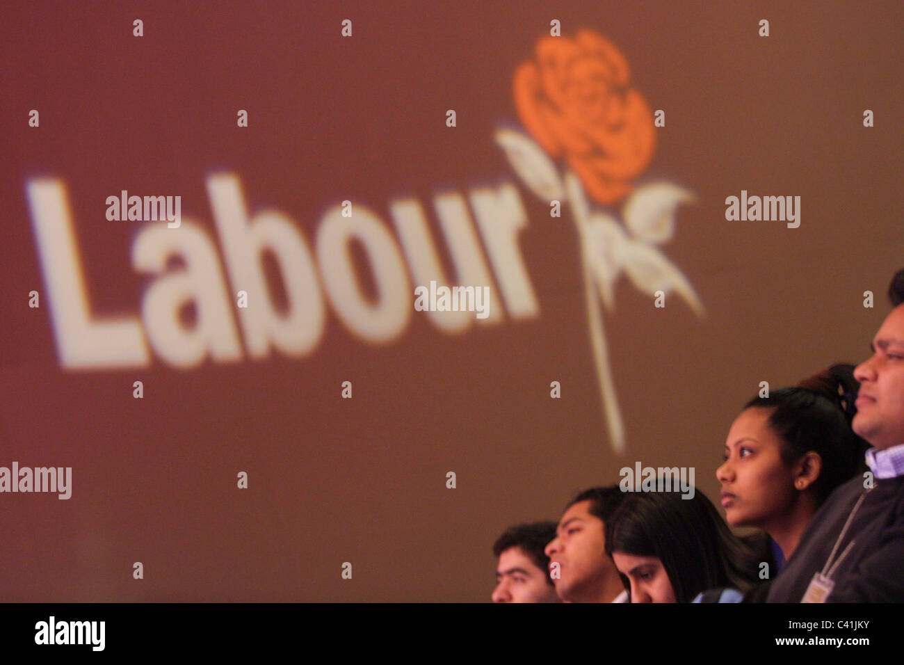 Labour Party conference, in Glasgow, Scotland, 16th February 2003. - Stock Image
