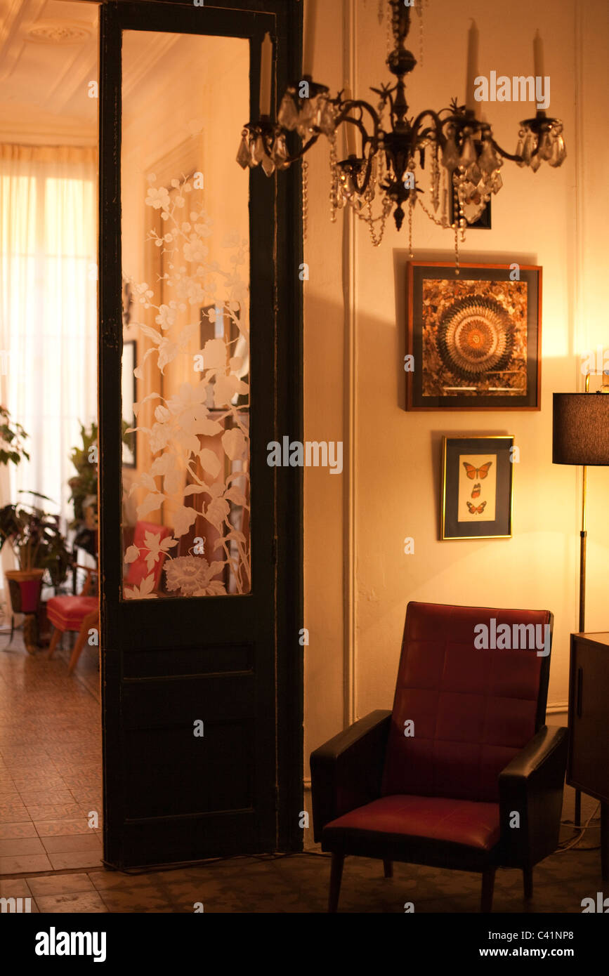 Decorated home interior - Stock Image