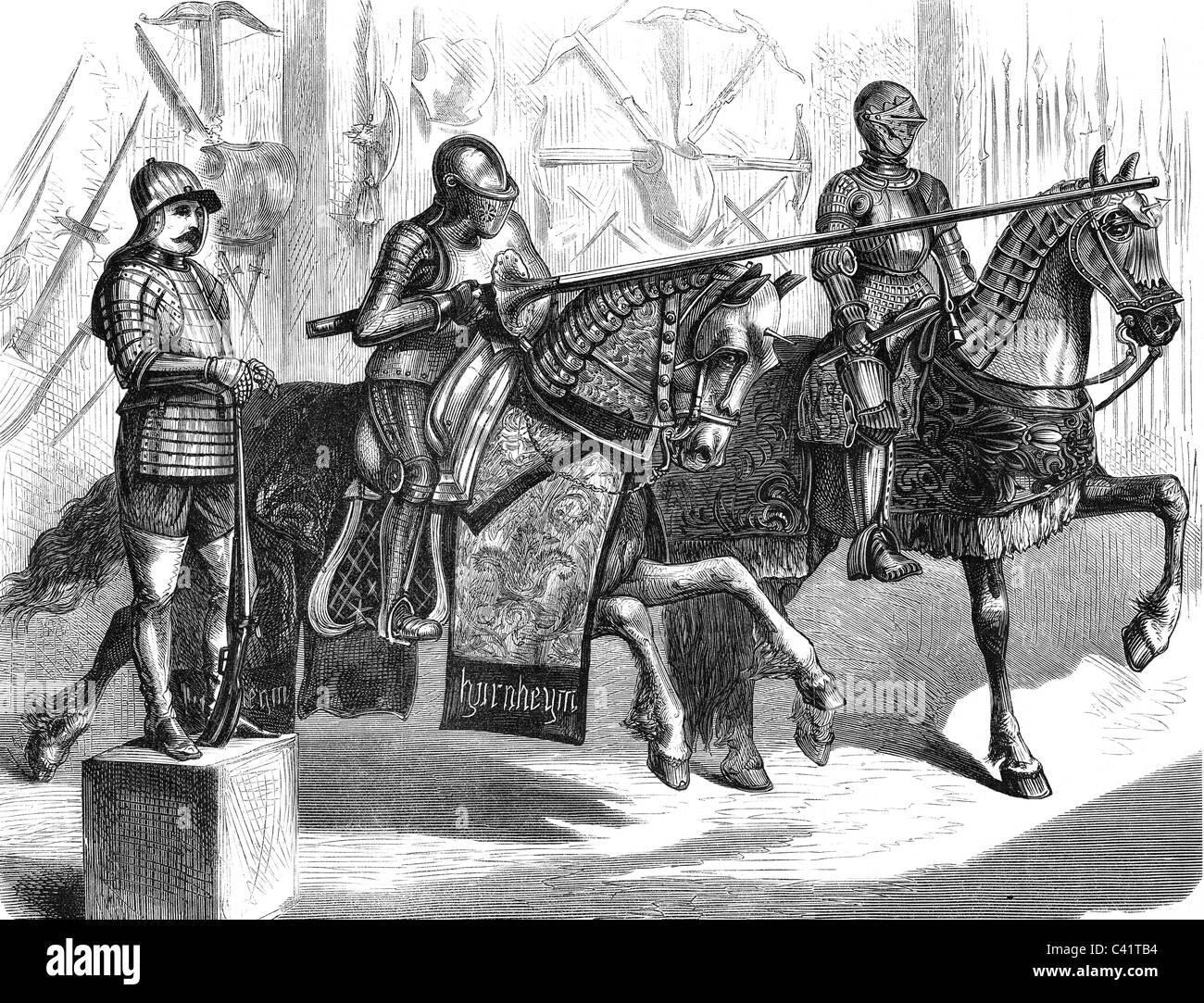 Suits Of Armour Stock Photos & Suits Of Armour Stock Images - Alamy