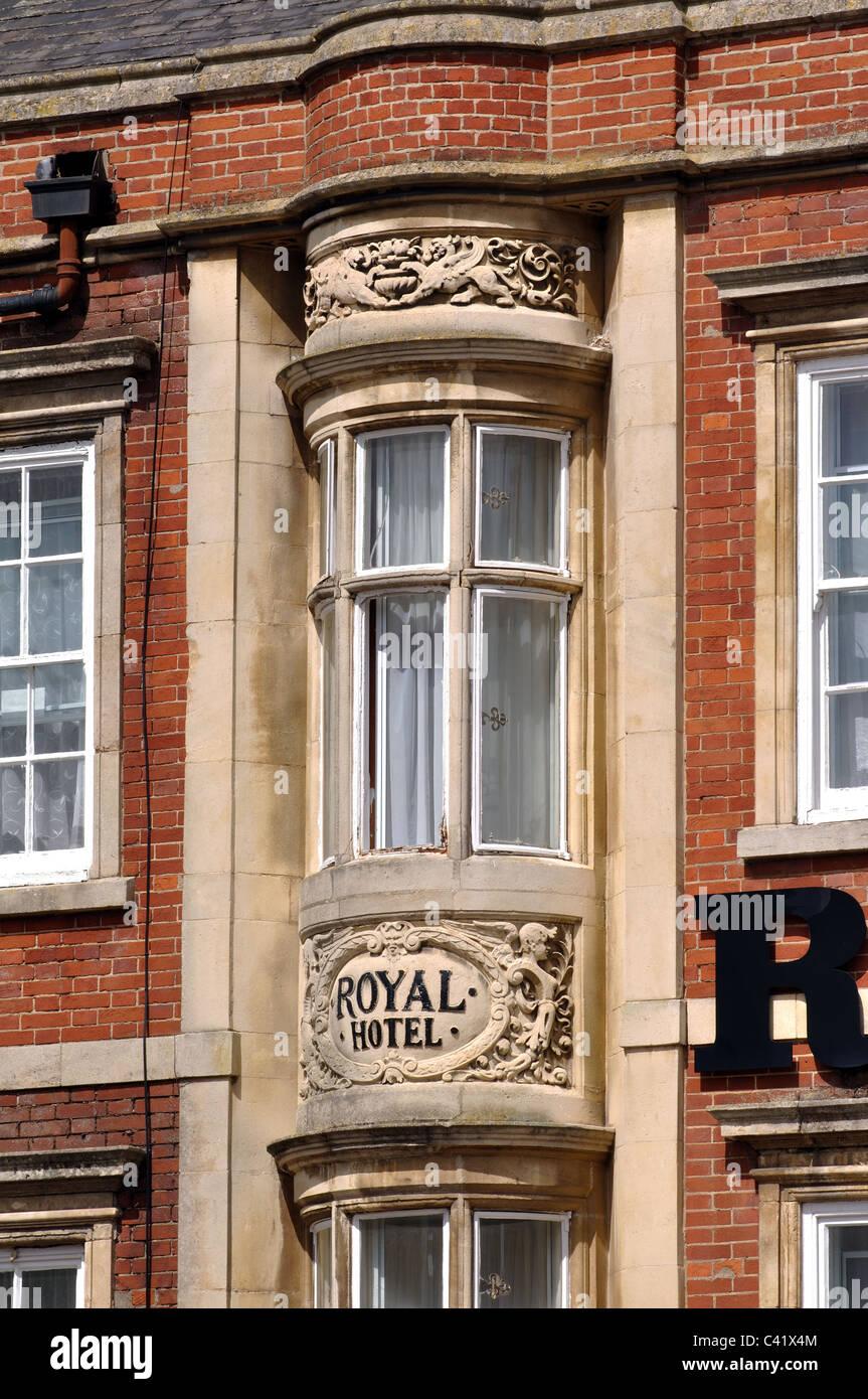 The Royal Hotel, Kettering, Northamptonshire, England, UK - Stock Image