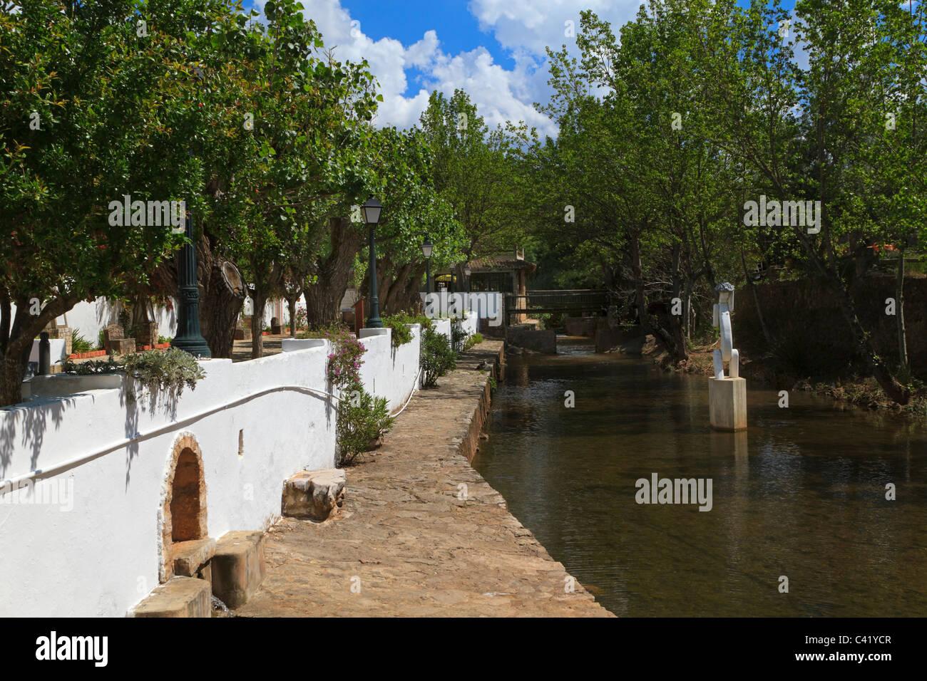 Fonte Peguena, Little Fountain, Alte, Portugal. - Stock Image