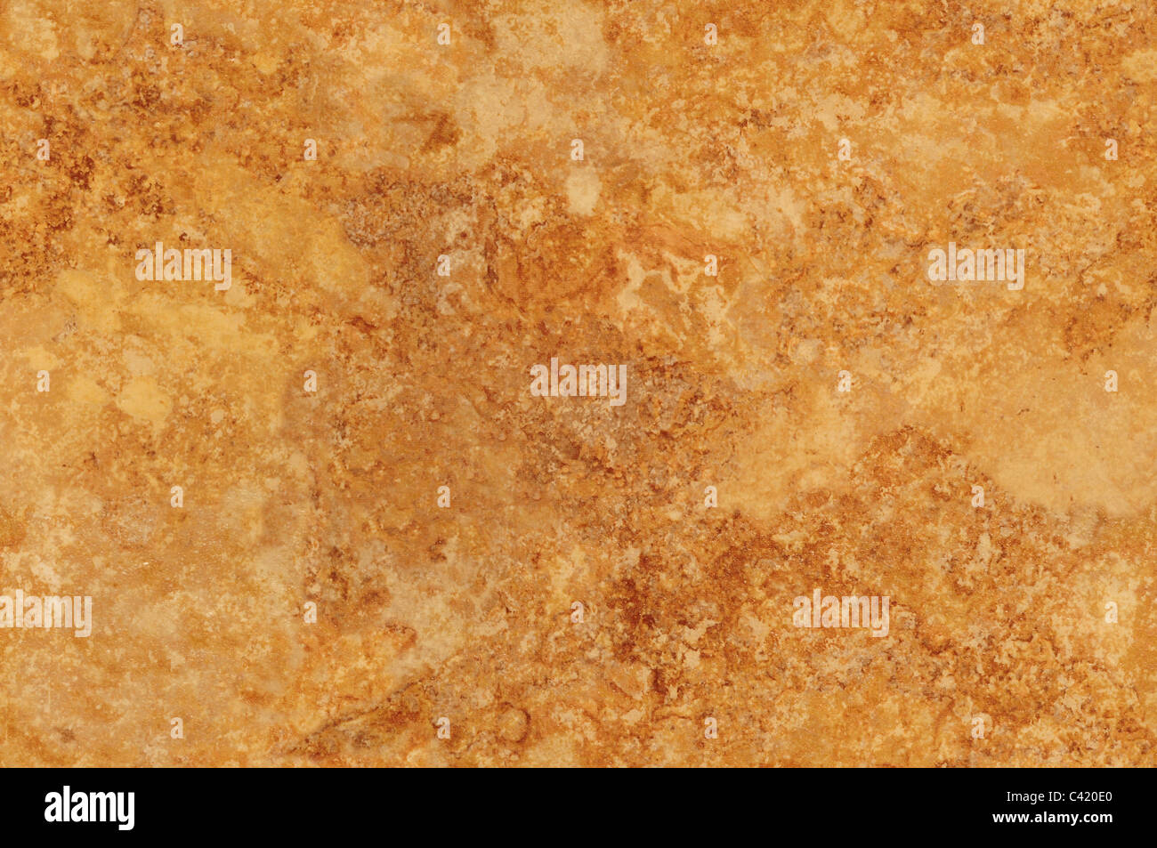 Brown mottled background surface texture - Stock Image