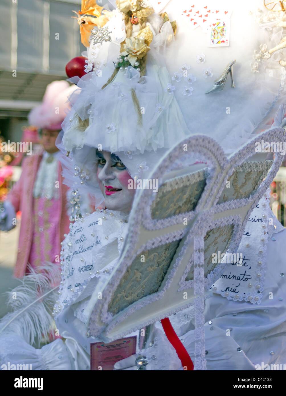 Extreme costuming - Stock Image