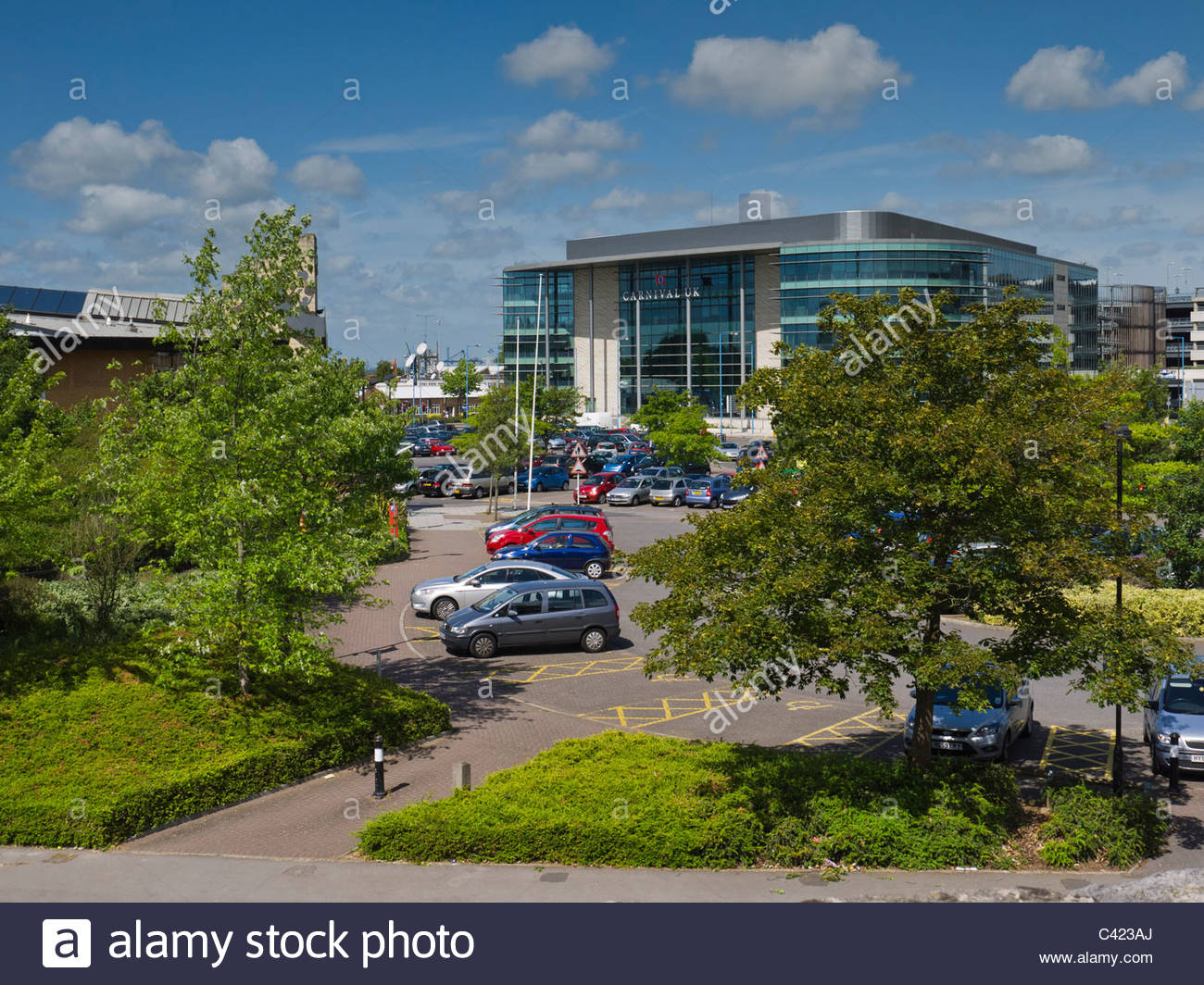 Carnival Cruise Lines Office Southampton England - Stock Image