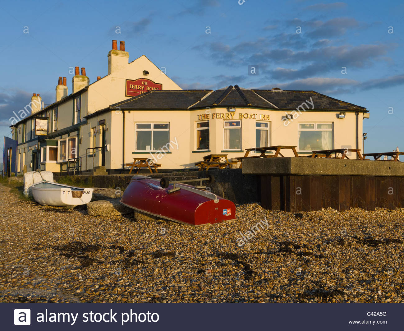 The Ferry Boat Inn Hayling Island Hampshire England UK - Stock Image