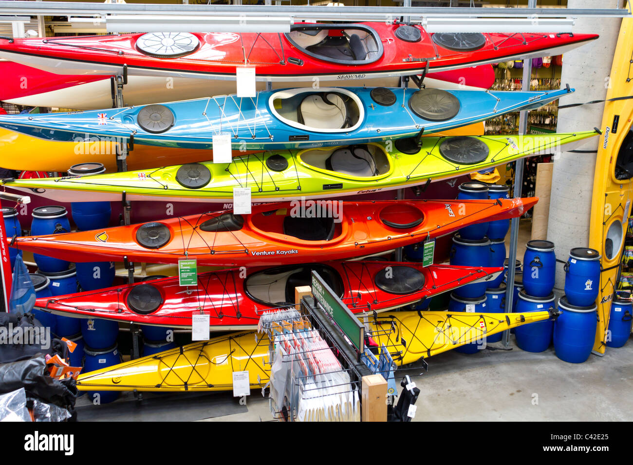 Kayak For Sale Stock Photos & Kayak For Sale Stock Images