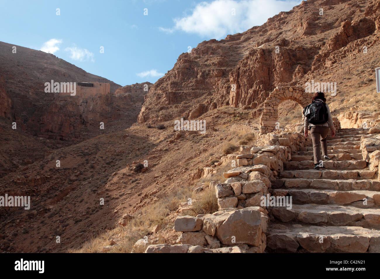 Deir Mar Musa Monastery, Syria - Stock Image