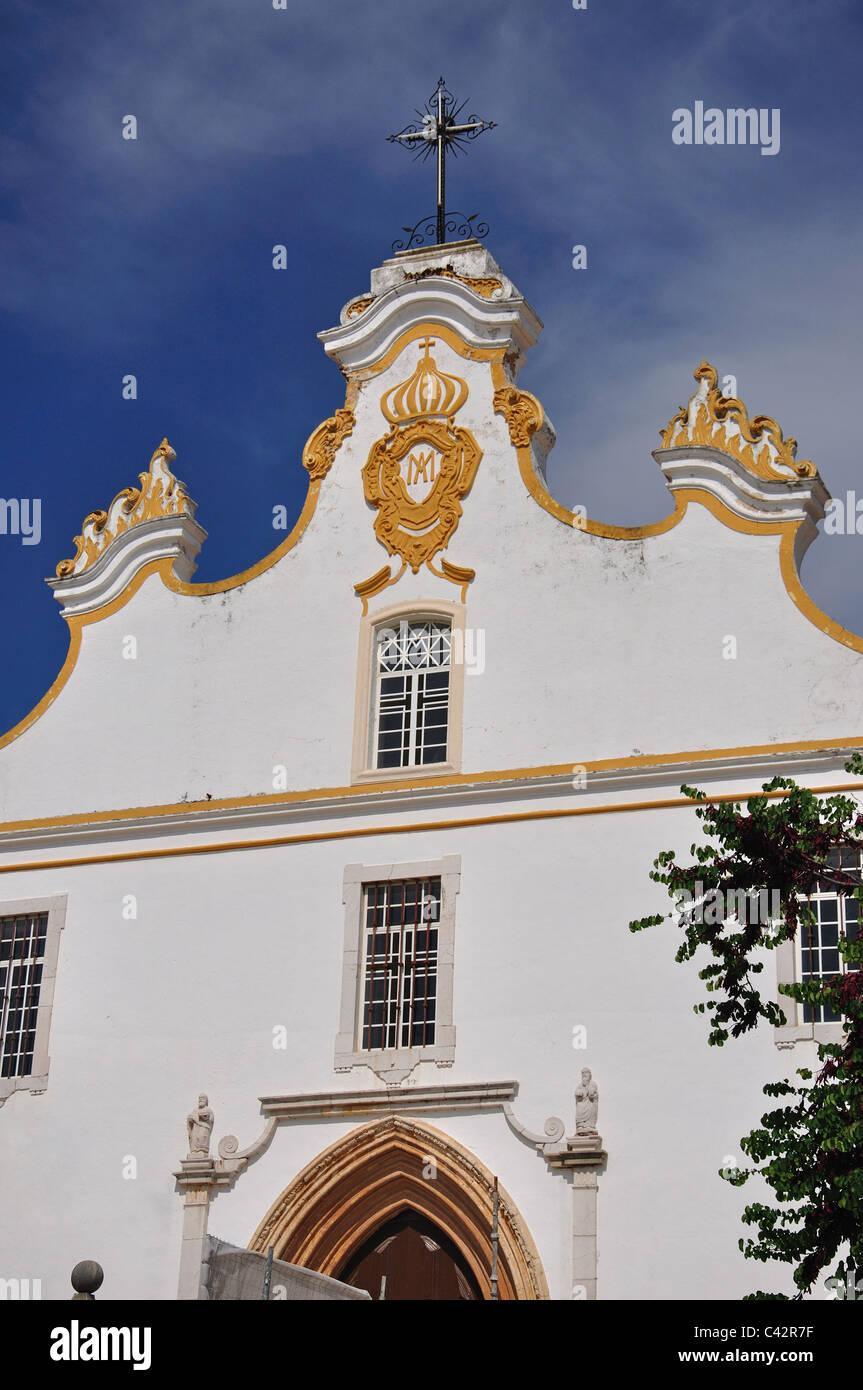 Historic Portimão Church, Portimão, Faro District, Algarve Region, Portugal - Stock Image