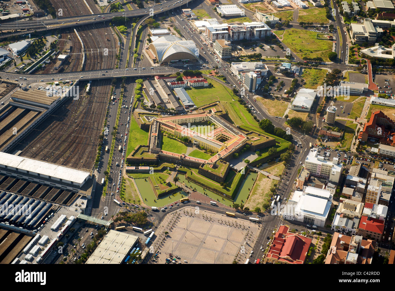 Aerial View Of The Castle The Good Hope Exhibition Centre