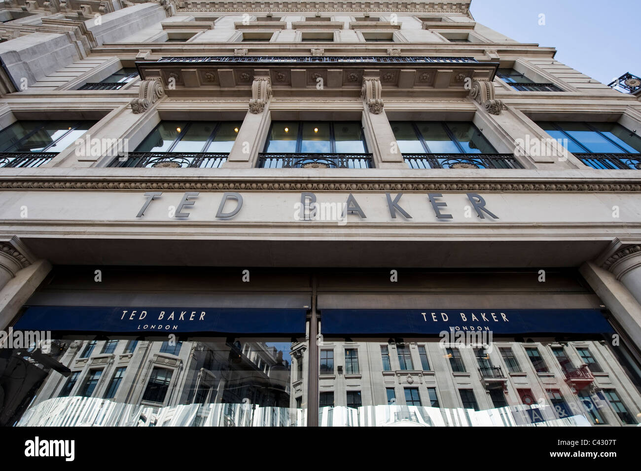 3f479d2439d406 The storefront of the high street retailer Ted Baker on Regent Stock ...