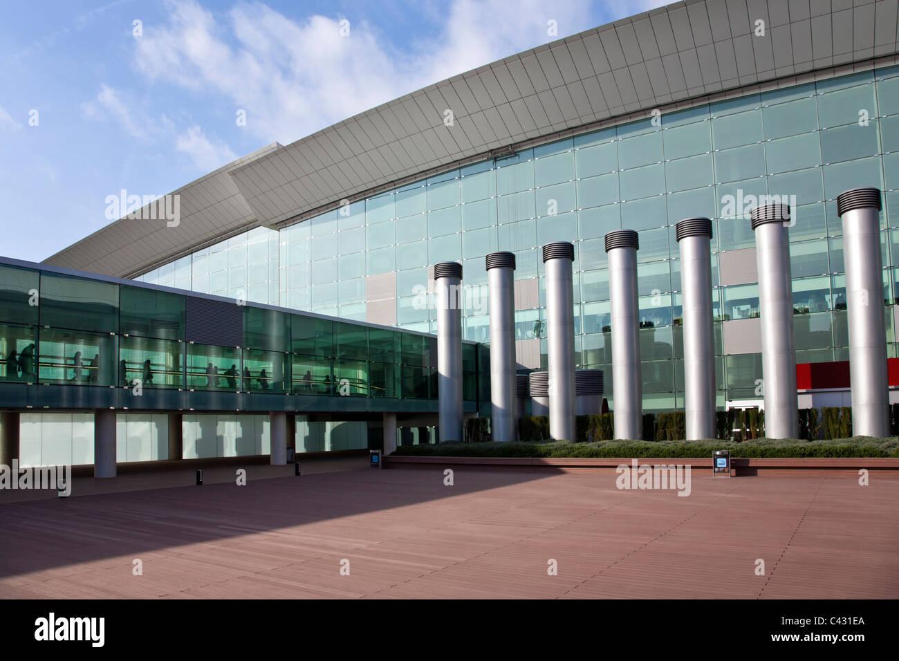 El Prat airport. Barcelona. Spain - Stock Image