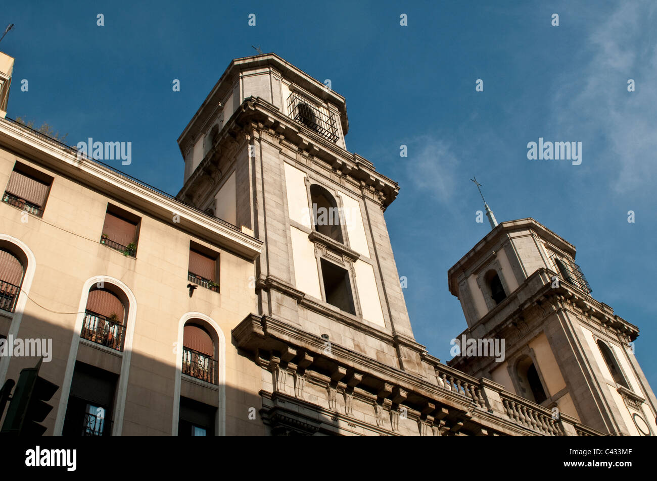 Colegiata de San Isidro, Madrid, Spain Stock Photo