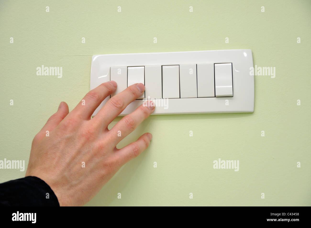 Turn Off Light Switch Stock Photos & Turn Off Light Switch Stock ...