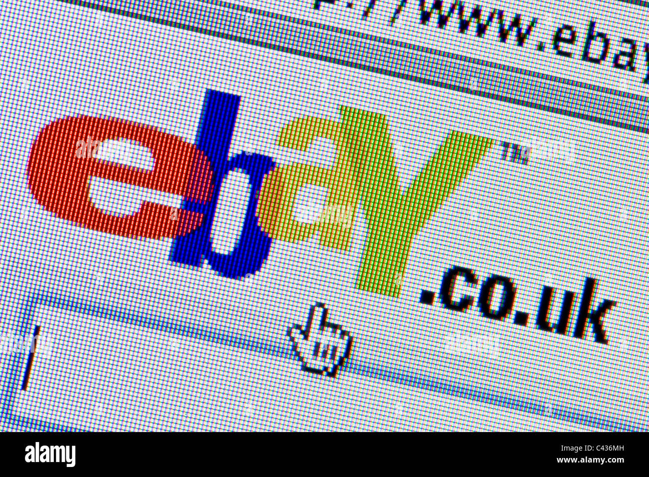 Ebay Logo Screen High Resolution Stock Photography And Images Alamy