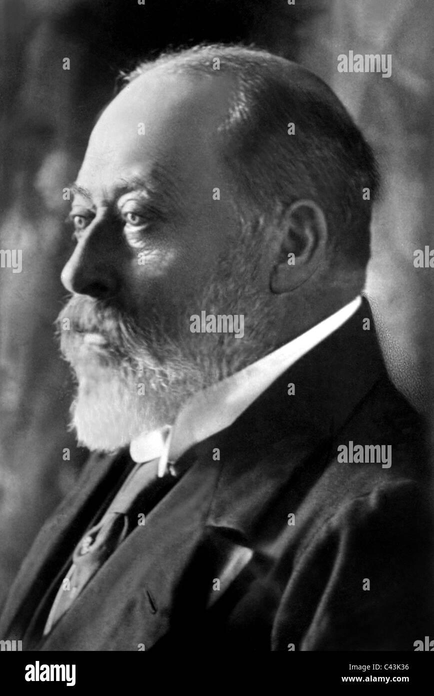 KING EDWARD VII ROYAL FAMILY KING OF ENGLAND 01 May 1902 APROXIMATE DATE - Stock Image