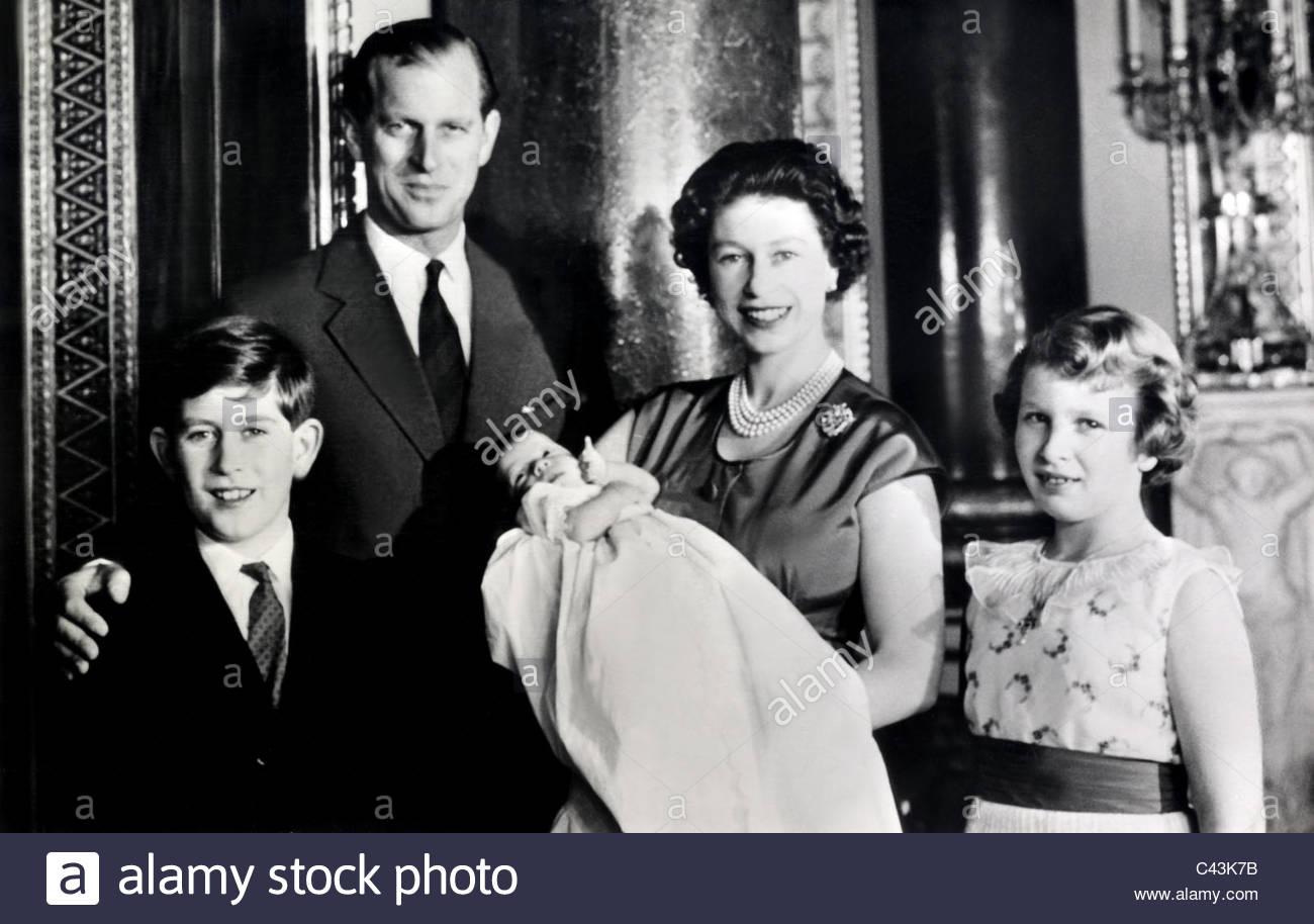 Queen Elizabeth 1960 Stock Photos & Queen Elizabeth 1960 Stock ...