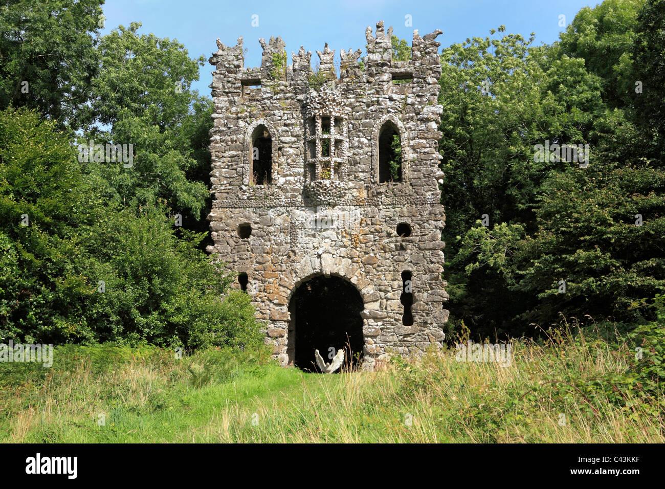 Eire, Europe, European, Ireland, Irish, Western Europe, travel destinations, Architecture, building, houses, Landscape, - Stock Image