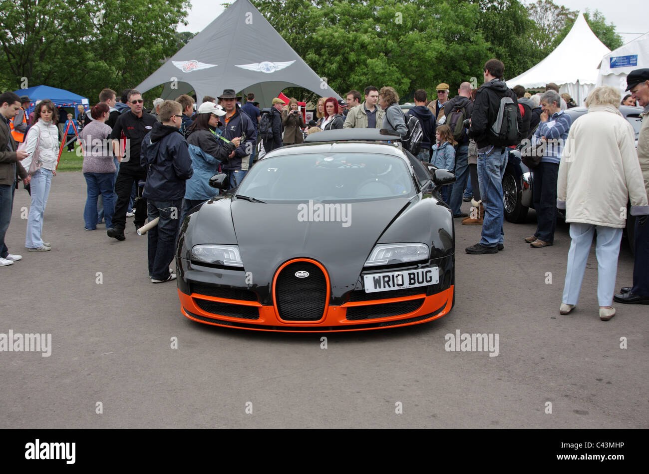 High Quality A £1.5 Million Bugatti Veyron Super Sport At Prescott Hill Climb In  Gloucestershire UK.