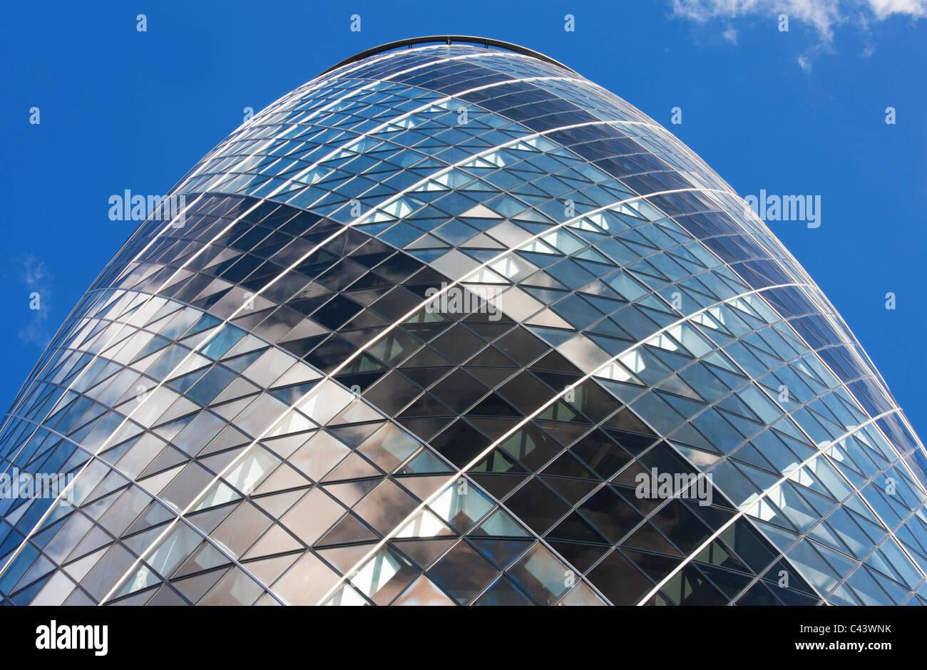 The Gherkin; London; England - Stock Image