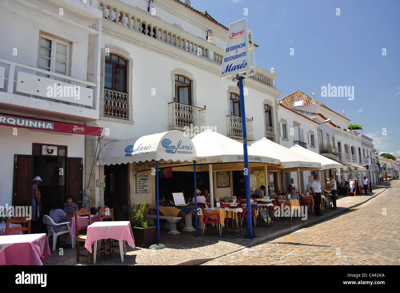 Waterfront Restaurant In Old Town Tavira Tavira Municipality Faro