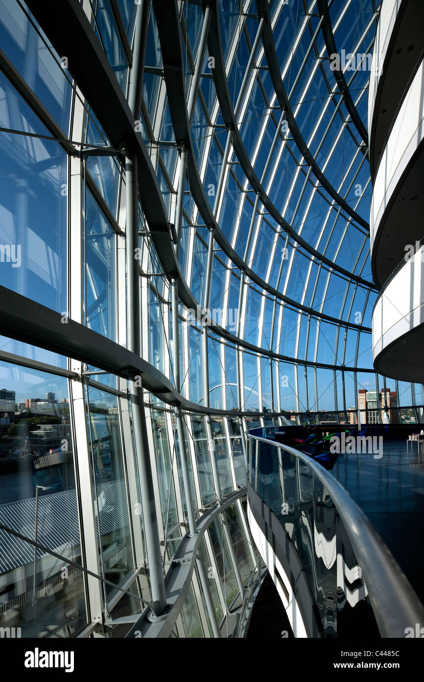 Interior perspectives of The Sage, Gateshead, Tyne and Wear - Stock Image