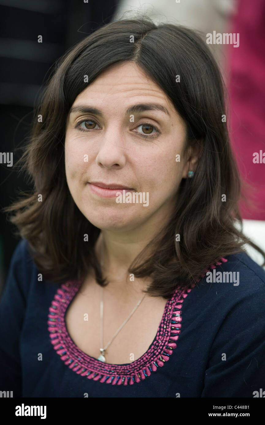Katharine Quarmby campaigning journalist and author pictured at Hay Festival 2011 - Stock Image